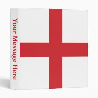 England Plain Flag Binder
