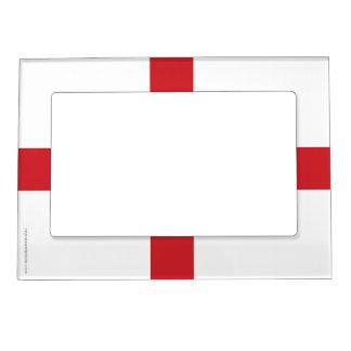 England Plain Flag Magnetic Photo Frame