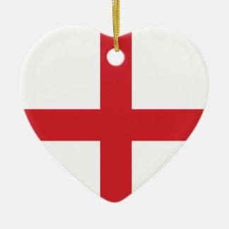 England Plain Flag Ornaments