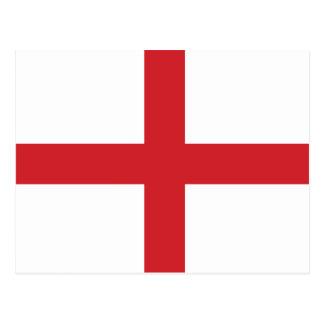England Plain Flag Postcard