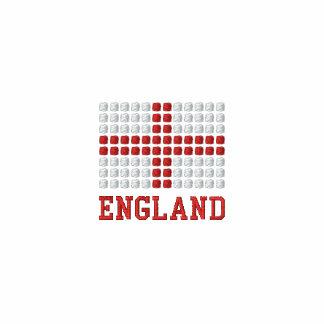 England Polo Shirt - English red cross flag