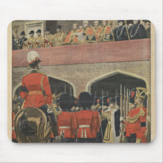 England, proclamation of the new King George V Mouse Pad