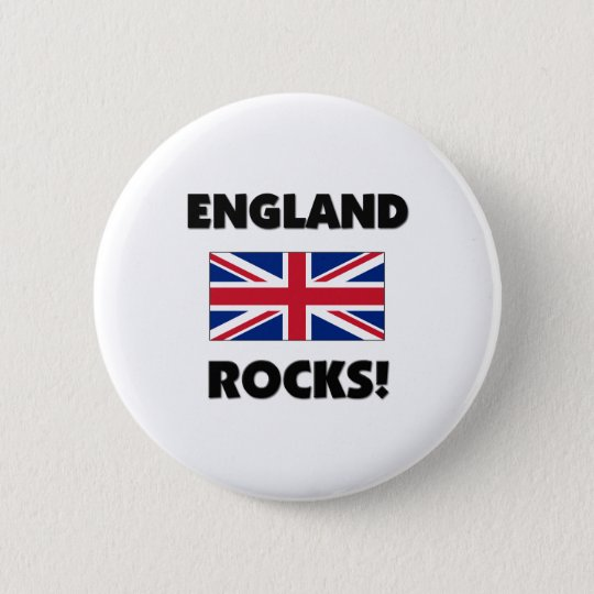England Rocks Button
