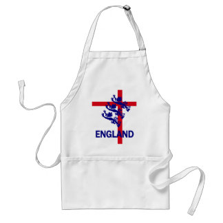 England Royal standard and St George cross Adult Apron