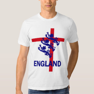 England Royal standard and St George cross T Shirt