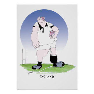 england rugby player, tony fernandes poster