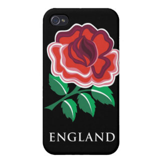 England Rugby Rose Case For iPhone 4