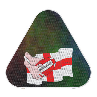 England Rugby Team Supporters Flag With Ball Bluetooth Speaker