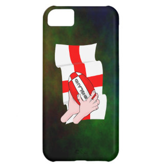 England Rugby Team Supporters Flag With Ball iPhone 5C Cover