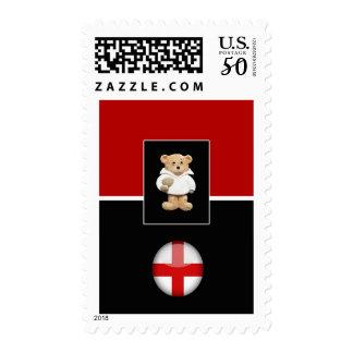 England Rugby Teddy Bear Postage
