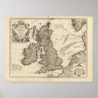 England, Scotland, Europe Print