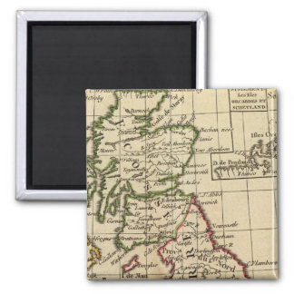 England, Scotland, Ireland 2 Inch Square Magnet
