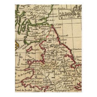 England, Scotland, Ireland Postcard