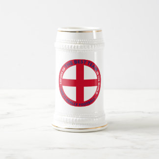 ENGLAND SHIELD BEER STEIN