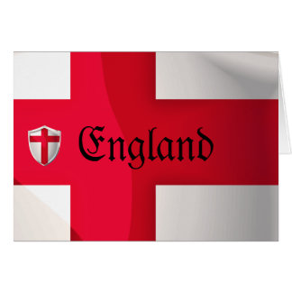 England Shield Card