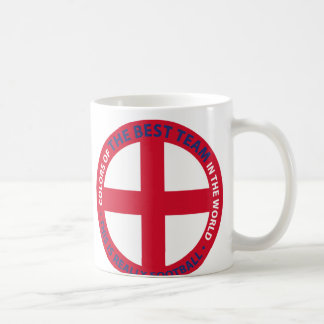 ENGLAND SHIELD COFFEE MUG