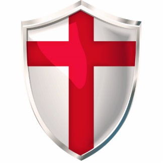 England Shield Cutout