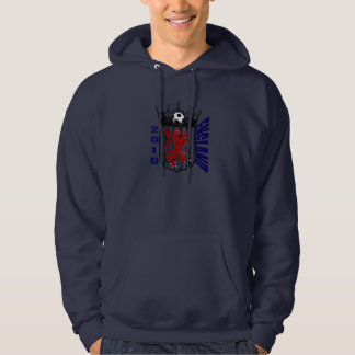 England shield soccer lovers gifts hoody