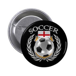England Soccer 2016 Fan Gear Button