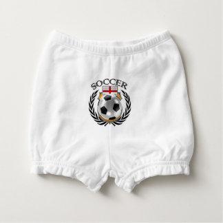 England Soccer 2016 Fan Gear Diaper Cover