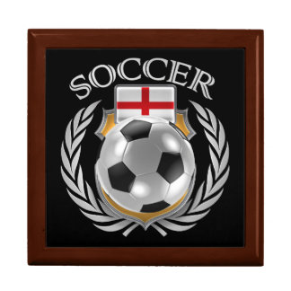 England Soccer 2016 Fan Gear Jewelry Box