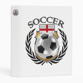 England Soccer 2016 Fan Gear Mini Binder