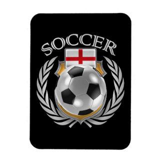 England Soccer 2016 Fan Gear Rectangular Photo Magnet