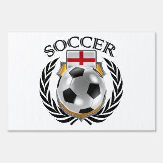 England Soccer 2016 Fan Gear Sign