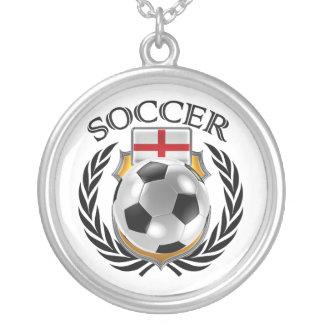 England Soccer 2016 Fan Gear Silver Plated Necklace