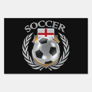 England Soccer 2016 Fan Gear Yard Sign