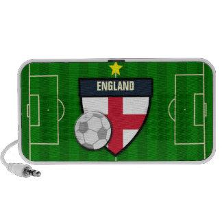 England Soccer Flag Football Travel Speaker