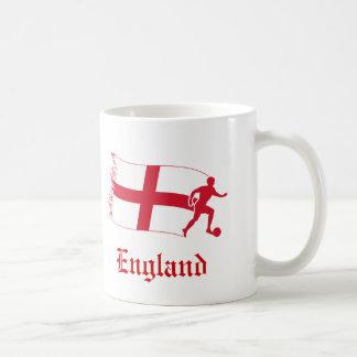 England Soccer Flag Coffee Mugs