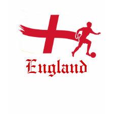 England Soccer Flag shirt