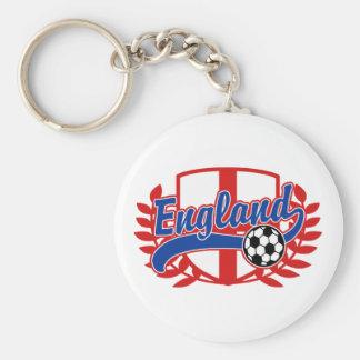 England Soccer Football Keychains