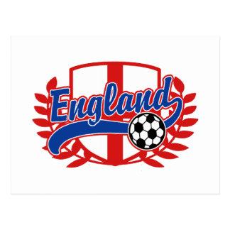 England Soccer Football Postcards