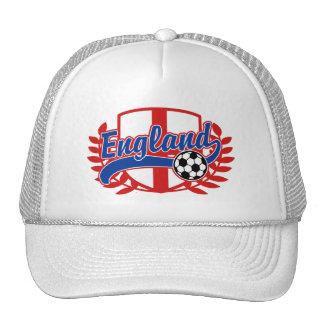 England Soccer Football Trucker Hat
