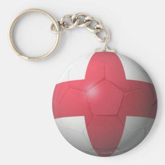 England Soccer Key Chains
