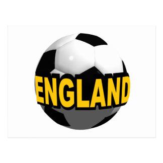 England Soccer Post Card