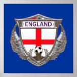 England Soccer Poster