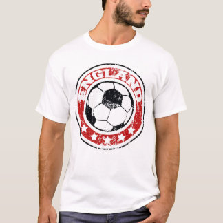 England Soccer T-Shirts (distressed)