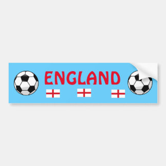 England Soccer Team Bumper Sticker