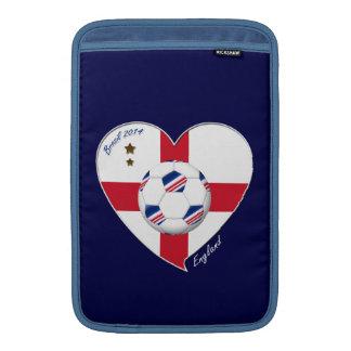 """ENGLAND"" Soccer Team. Fútbol de Inglaterra 2014 Funda MacBook"