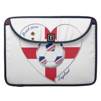 """ENGLAND"" Soccer Team. Fútbol de Inglaterra 2014 Funda Macbook Pro"