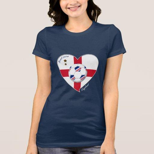 """ENGLAND"" Soccer Team. Fútbol de Inglaterra 2014 Camiseta"