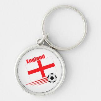 England Soccer Team Keychain