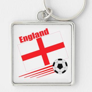 England Soccer Team Keychains