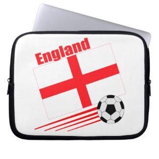 England Soccer Team Computer Sleeve