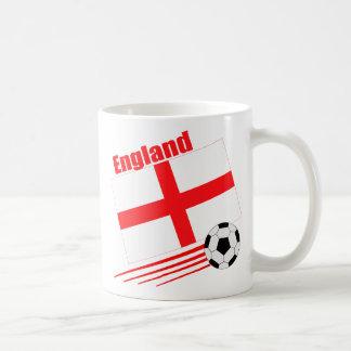 England Soccer Team Coffee Mugs
