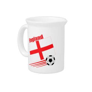 England Soccer Team Pitcher