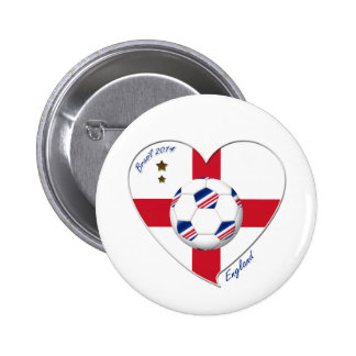 """""""ENGLAND"""" Soccer Team. Soccer of England 2014 2 Inch Round Button"""